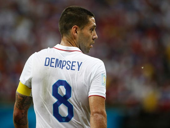 Clint Dempsey is just one goal behind Landon Donovan