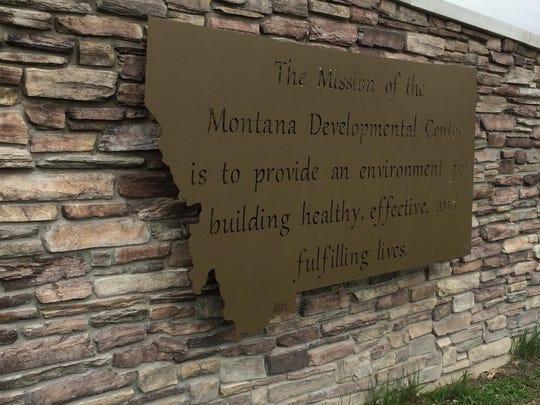 The Montana Developmental Center in Boulder.