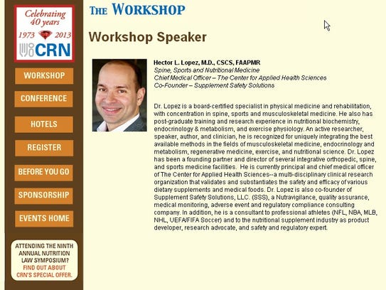 Hector Lopez_CRN workshop bio