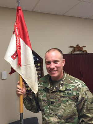 Capt. Beau Butts is the commander of Blackfoot Troop, 2nd Squadron, 13th Cavalry Regiment. He led a contingent of about 30 soldiers from 2-13 Cav to do a training mission in Ethiopia this summer.