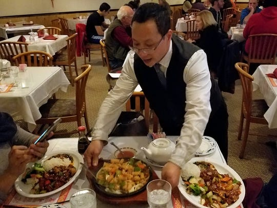 We were delighted to find Chef Bruce Li working at