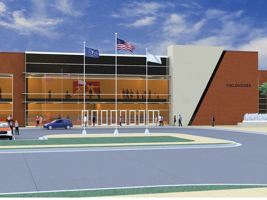 Fishers plans to provide incentives to attract a $76.4 million recreational sports center at I-69 Exit 10 in Saxony, near 136th Street and Olio Road.