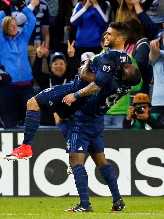 MLS: New York Red Bulls at Sporting KC