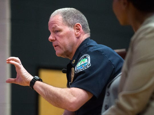 Knoxville Police Department Chief David Rausch responds