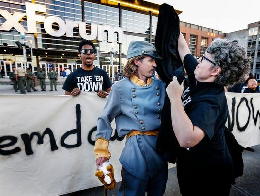 Take Them Down Protest