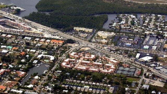 FILE - Aerials looking north of the Naples Bay Resort along U.S. 41 East near the intersection of Davis Blvd. Tuesday March 27, 2007. Garrett Hubbard/Staff