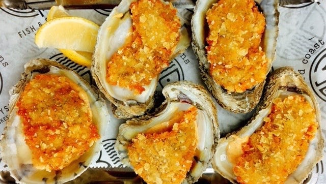 Fried oysters coated in a kettle chip crust will be on the menu at Third Coast Provisions, a new seafood restaurant that's due to open in November or December at 724 N. Milwaukee St.