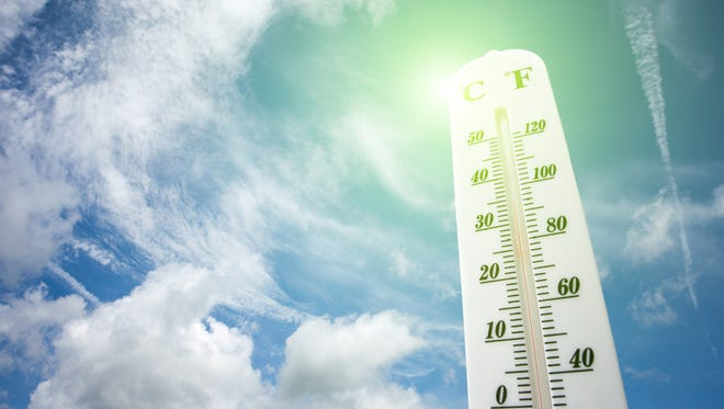 Temperatures reached the 60s and 70s on Tuesday, breaking records across the state.