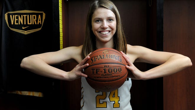 The Star's All-County Girls Basketball Player of the Year is Aubrey Knight of Ventura High.