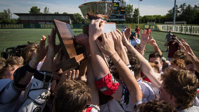 CVU won its sixth title in a row in boys lacrosse on Saturday.