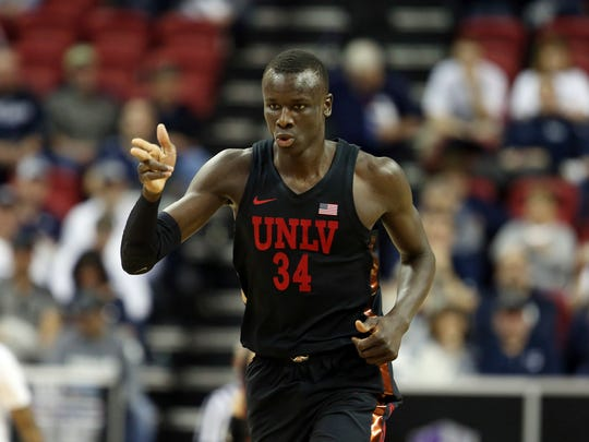 UNLV's Cheikh Mbacke Diong averaged 6.9 points, 6.8 rebounds and 1.5 blocks per game as a sophomore.