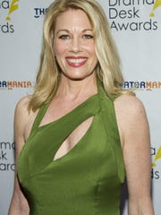 Marin Mazzie arrived at the 57th Annual Drama Desk
