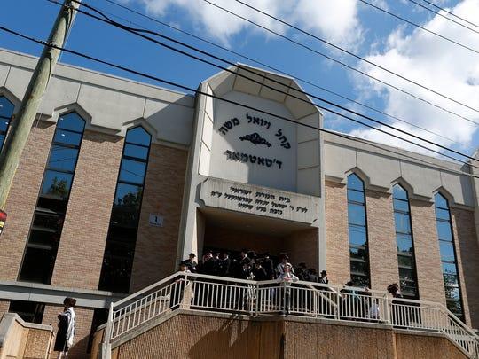 Congregation V'yoel Moshe on Maple Avenue in the Ramapo