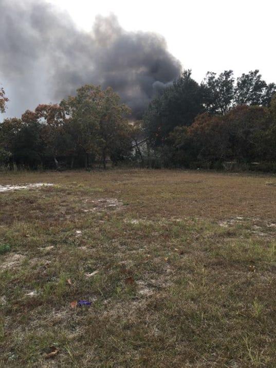Navarre house fire