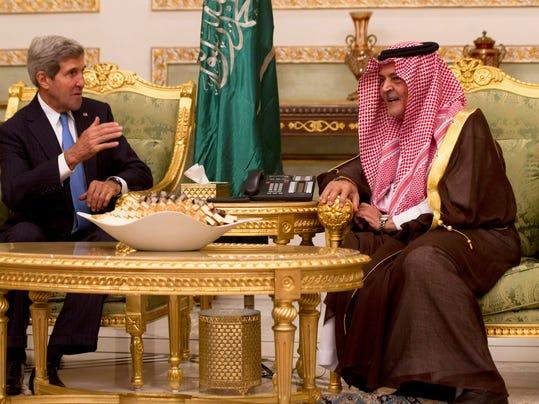 Kerry in Saudi Arabia