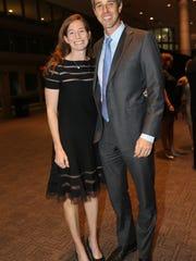 Amy O'Rourke and Beto O'Rourke