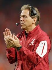 Alabama head coach Nick Saban has crossed paths with