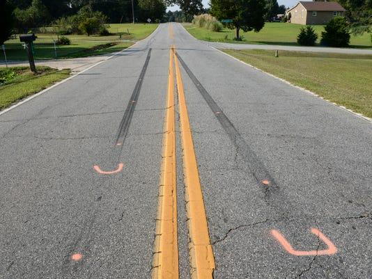 Flat Rock Road Starr fatal