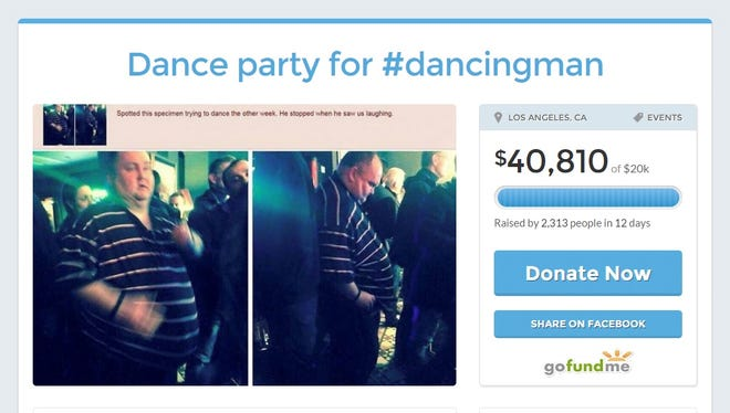 Krista Vitt got donors on GoFundMe to kick in more than $40,000 to pay for a dance party.