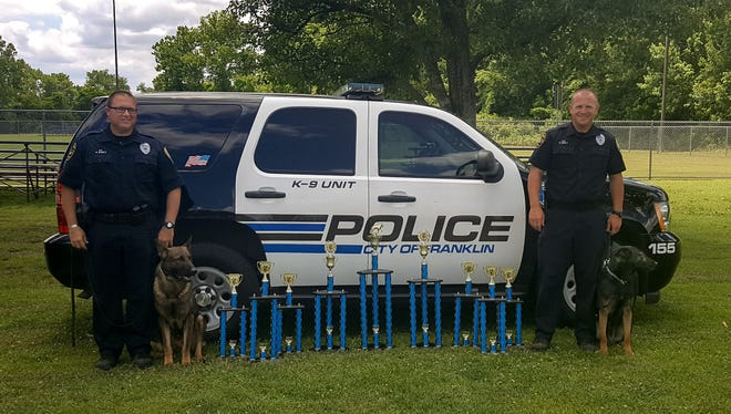 K9 Duke recently won second place awards at the United States Police Canine Association, Region-13 Field Trials.