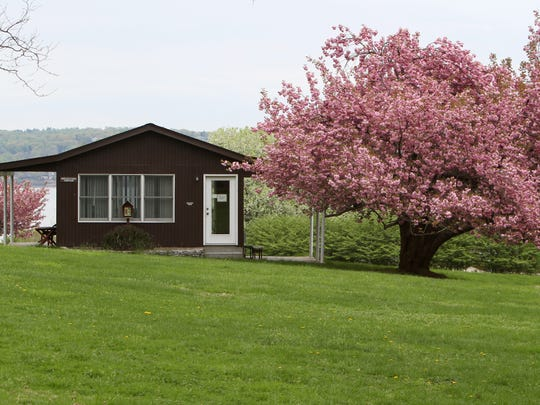 A cottage at the Marydell Faith and Life Center in Upper Nyack, photographed on May 6.