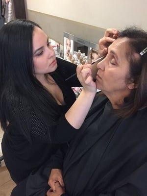 Natalia Medero gets a Mother's Day makeover.