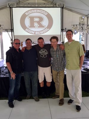 Shown, from left to right, is Joe Corcoran (Bass, Vocals) Chris Boiko (Keybooards, Vocals) Mark Fabyanski (Drums) James Garde (Sax, Flute, Vocals) Jay Baney (Guitar).