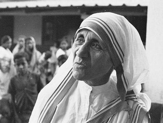 Mother Theresa b&W