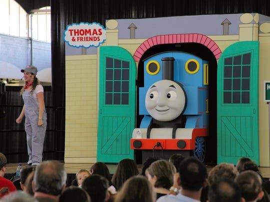 The audience will help plan Thomas the Tank Engine's birthday party at Sunday's Family Fun Expo.