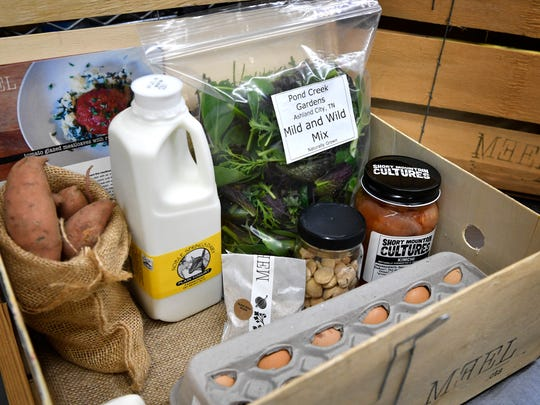 Meel, delivers locally grown food with recipes to Nashville