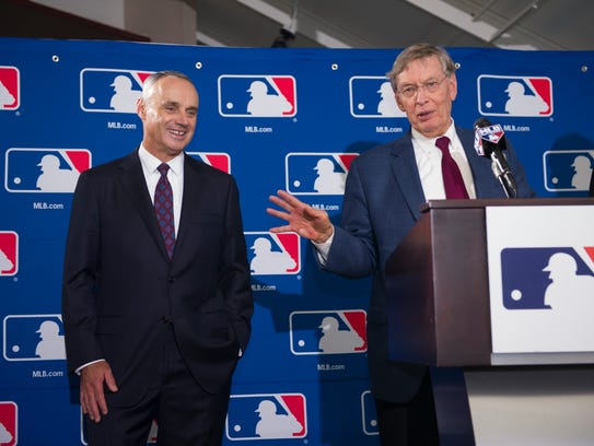 On Jan. 25, Bud Selig will pass the torch of baseball