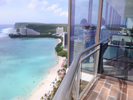 One of the features of the Dusit Thani Guam Resort