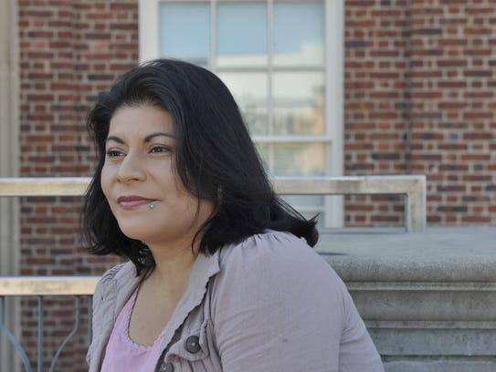 Enriqueta Juarez, at the the office of Casa de Maryland
