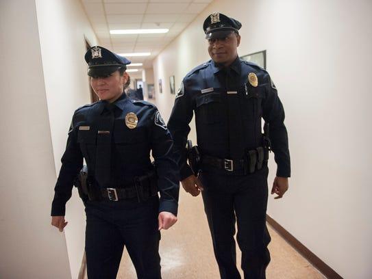 New Camden County Police Officers Bethsaida Cordero