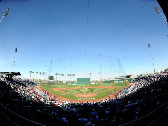Goodyear Ballpark (Reds and Indians) - Goodyear, Ariz.