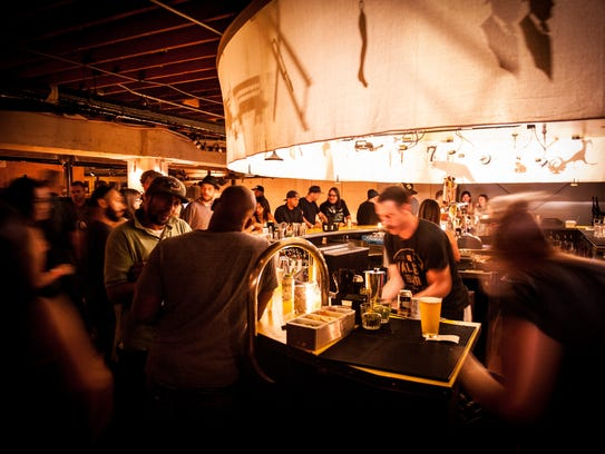 Valley Bar is a popular underground music venue and