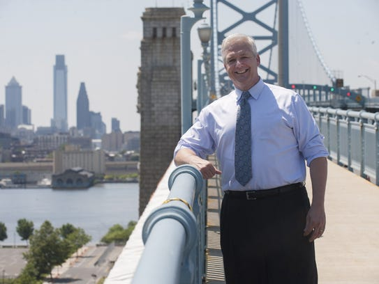 John Hanson, CEO of the Delaware River Port Authority,