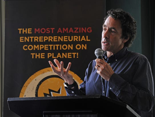 Gregory Kallenberg speaks to the 2016 Louisiana Startup