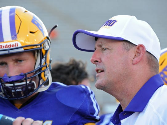 Byrd's head coach Mike Suggs