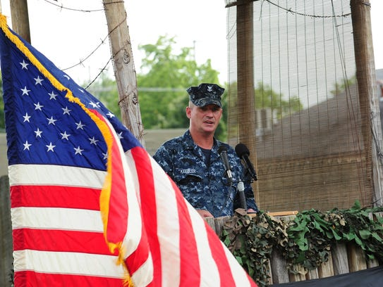 Bova VFW Post, Senior Vice Commander, George Keebler