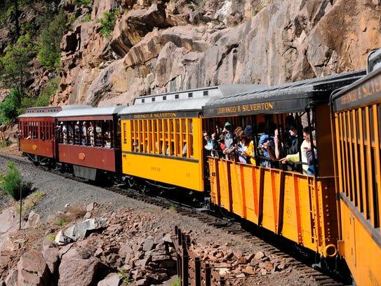 The Durango & Silverton Narrow Gauge Railroad is a