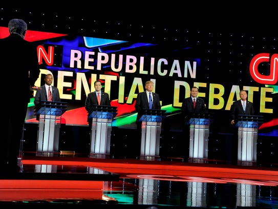GOP candidates prepare for the Houston debate on Feb.