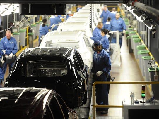 Nissan's Smyrna facility, the highest volume assembly