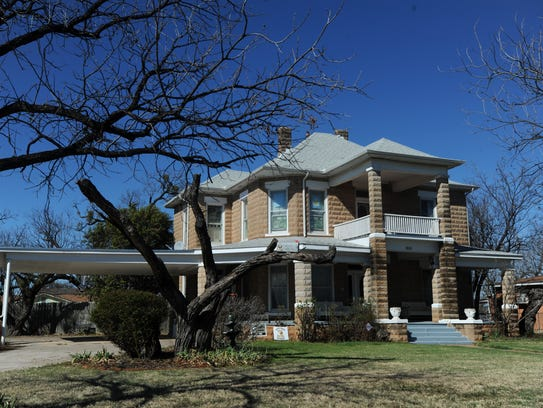 A house at 1802 Swenson St. is on the Abilene Register