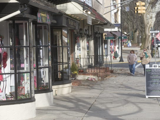 The historic town of Haddonfield is also a prime shopping
