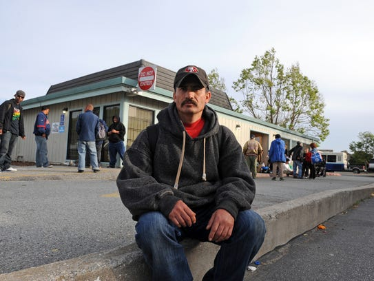 Gerardo Rodriguez, 40, has been looking for work, and