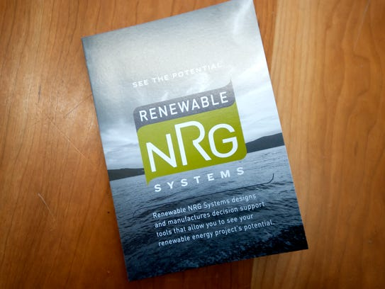 Renewable NRG Systems in Hinesburg was sold to a St.