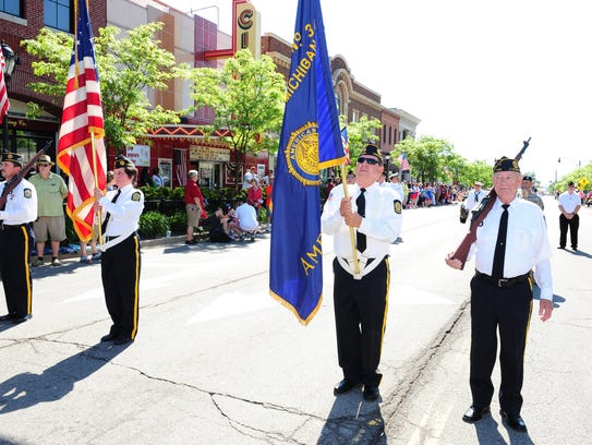 Farmington American Legion Post 346 Honor Guard take