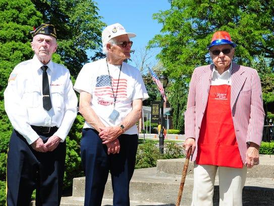 Farmington Memorial Day Parade Grand Marshals Jim Forbes,