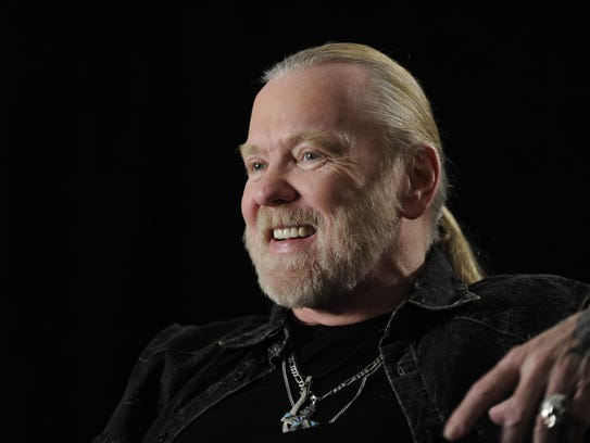 Gregg Allman, co-founder of the Allman Brothers Band,